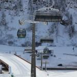 Mitte des Winters in Obertauern
