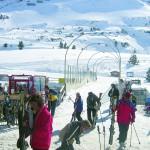 Almklausi beim Live Auftritt im Weltcupschirm in Obertauern