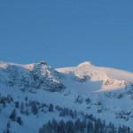 Schnee in Obertauern