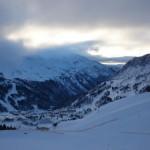 Wieso ist der Schnee in Obertauern nicht überall weiß?