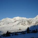 Weite, unverspurte Tiefschneehänge in Obertauern