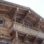 Ostereier im Schnee verstecken