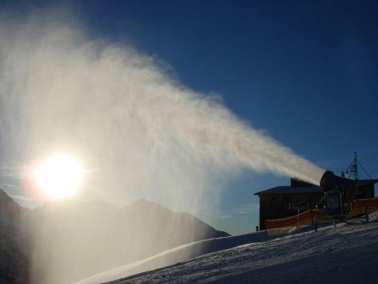 Bergbahnen spielen Frau Holle in Obertauern