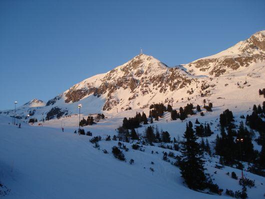Nachskilauf unter perfekten Bedingungen in Obertauern