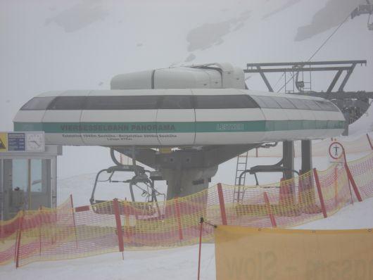 Die letzte Fahrt mit der Panoramabahn in Obertauern