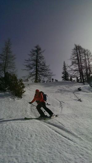 Der perfekte Schwung? Muß nicht sein, aber Spaß hat es gemacht! Skifahren in Obertauern