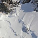 Gefahr durch Lawinen im Gebirge