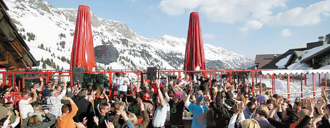 Après-Ski in Obertauern im Gruberstadl
