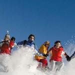 Caroline und Moritz machen Urlaub, Skiurlaub, in Obertauern!
