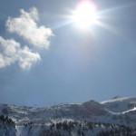 Die Schattenseite in Obertauern