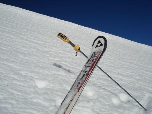 1,2 Meter Schnee am Gamsleiten 2 in Obertauern
